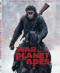 War for the Planet of the Apes DVD Release Date October 24 ...