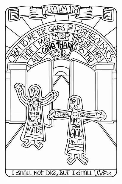 Coloring Psalms 5x11 Psalm Colouring Ministry Illustrated