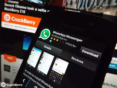whatsapp for blackberry 10 gets updated with enhancements crackberry
