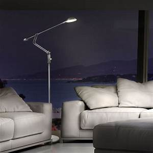 Stehlampen Led Dimmbar : wohnzimmer stehlampe stehleuchte dimmbar stand lampe leuchte strahler 12x led ebay ~ Orissabook.com Haus und Dekorationen