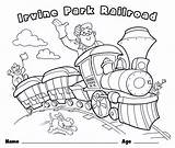Coloring Train Christmas Easter 4th Patch sketch template