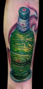 heineken bottle by Cecil Porter : Tattoos