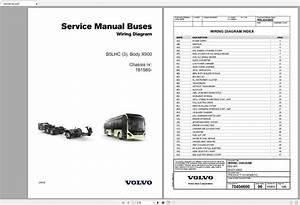 Volvo B5lhc  3  Trucks Service Manual Buses  U0026 Wiring