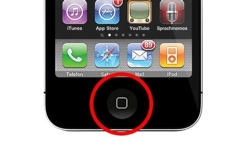how to get the home button on iphone austausch des home button iphone 4