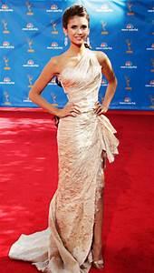 Nina Dobrev   Red Carpet Style: Celebs in Zuhair Murad ...
