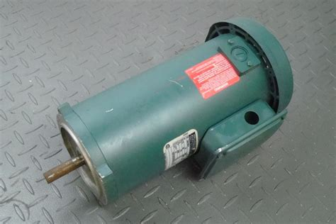 Reliance Electric Motors by Reliance Electric Motor 1 2hp 180v 1750rpm 56c T56s1007a