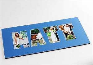 name word photo mat personalized custom cut matting With custom letter photo mats