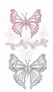Top 25 Ideas About Butterflies Crochet Diagrams On