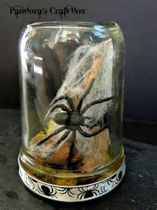 Creepy Halloween Mason Jar