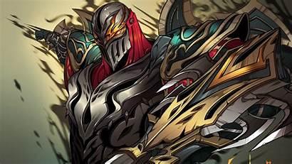 Zed Legends League Fan Ninja Wallpapers Fanart