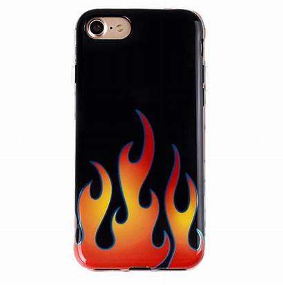 Phone Flames Chrome Case Iphone Cases Velvetcaviar