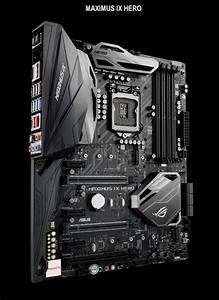 Asus Rog Maximus Ix Hero Z270 Motherboard Also Detailed