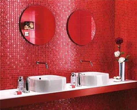 Rote Fliesen Bad by 34 Bathroom Wall Tiles Ideas And Pictures