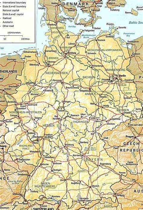 germany maps printable maps  germany
