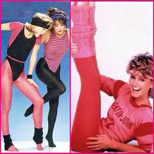 Olivia Newton John (Let's Get Physical), workout clothes ...