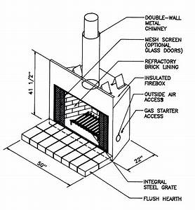 Fireplace Drawing At Getdrawings Com