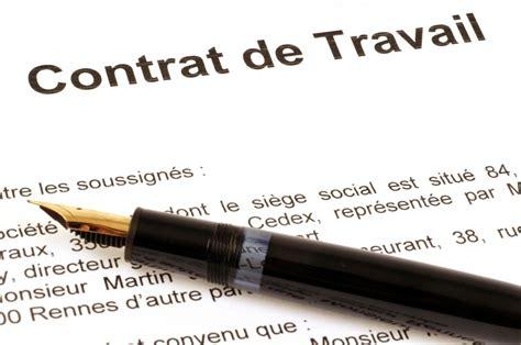 Modification Du Contrat De Travail Délai D Un Mois by Jurisprudence Modifier Un Contrat Ne Constitue Pas Un