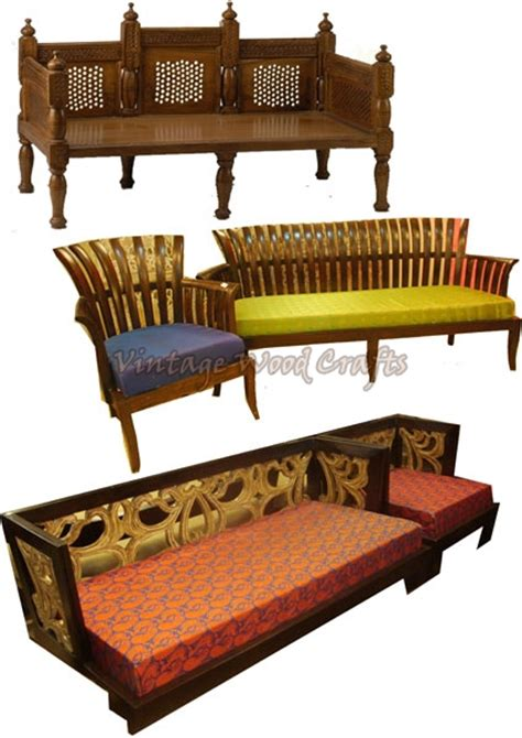 Contemporary Sofas India by Indian Style Sofas Moroccan Style Sofa In Reclaimed Wood