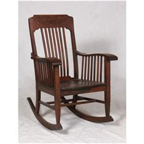 Cool Arts Crafts Oak Rocking Chair Heywood Wakefield Antique Ncnpc Chair Design For Home Ncnpcorg