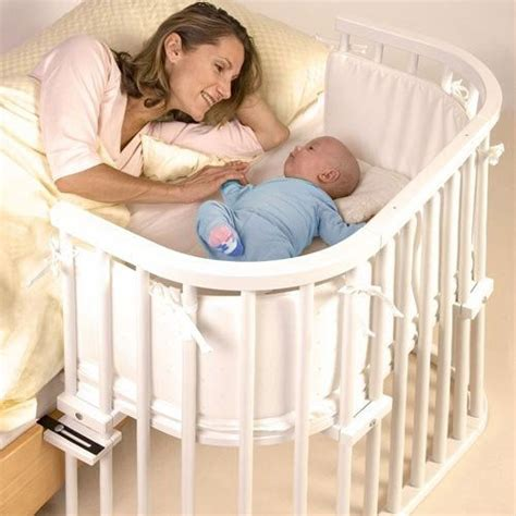 crib attached to parents bed baby cot