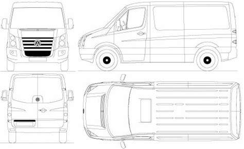 blueprints cars volkswagen volkswagen crafter
