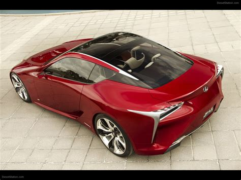 Lexus Lf Lc Sports Coupe Concept 2018 Exotic Car Image 16