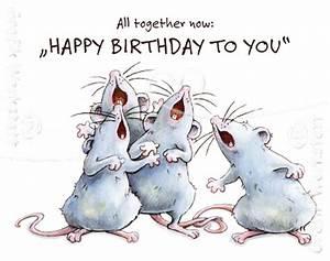 Happy Birthday Maus : happy birthday midi cards grafik werkstatt bielefeld anim funny happy ~ Buech-reservation.com Haus und Dekorationen