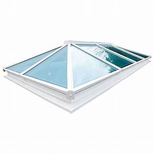 Atlas Manual Opening Roof Vent In White