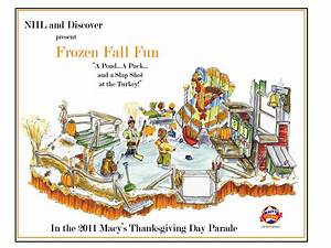 NHL Float in Macy's Thanksgiving Day Parade Will Feature ...