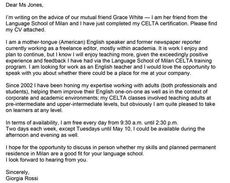 lettera formale ringraziamento inglese guglielminosrl