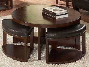 coffee table round coffee table with chairs underneath With round coffee table with chairs underneath