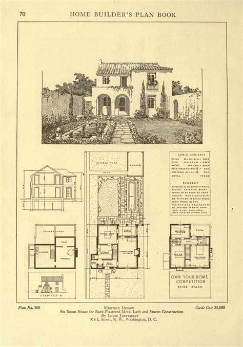 antique spanish house plans 160 best plan books images on floor plans vintage house plans and house floor plans