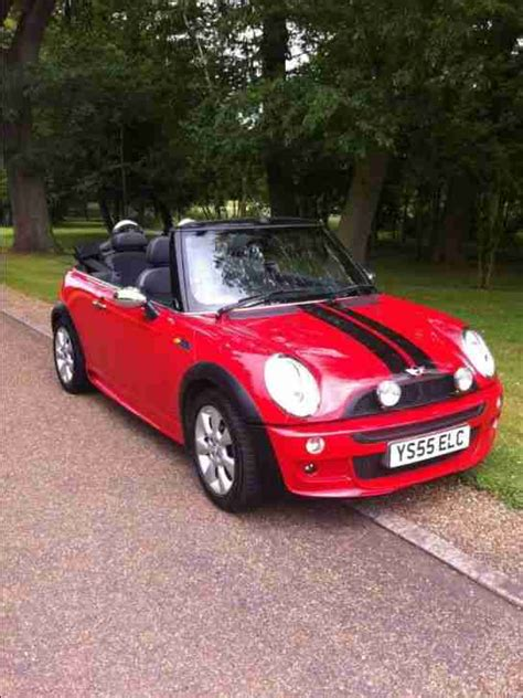 mini cooper  convertible red  car  sale
