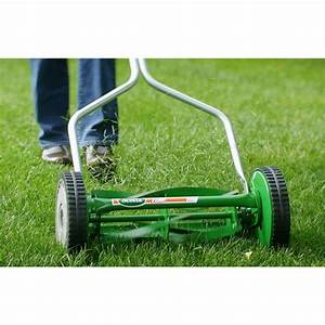Scotts Walk Behind Reel Lawn Mower 16 In  Manual Push Rust