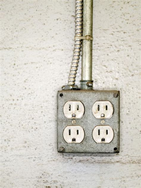 install  exterior electrical outlet hgtv