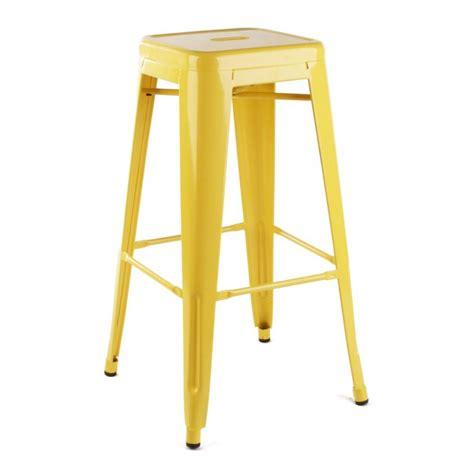 chaise de bar tolix chaise de bar design tolix par tolix design par
