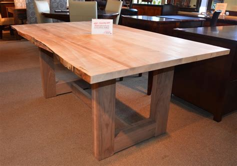 live edge table contemporary dining tables toronto