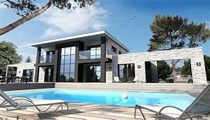 Maison En L Moderne : maison moderne en l mc immo ~ Melissatoandfro.com Idées de Décoration