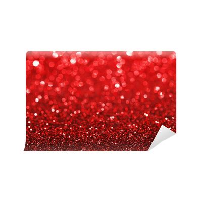 red glitter background wall mural pixers