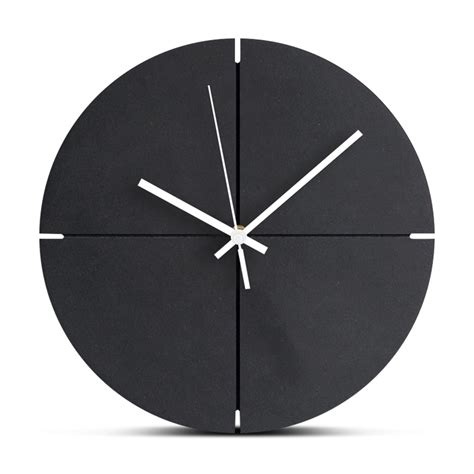 large wooden wall clock silent wood living room