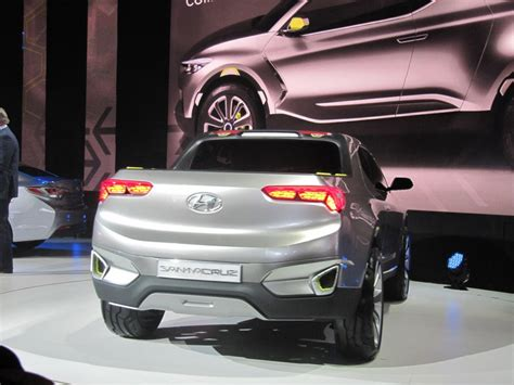 image hyundai santa cruz crossover truck concept