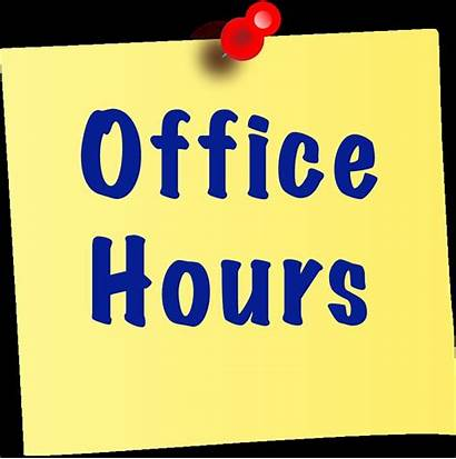 Office Hours Holidays During Report Monday Note