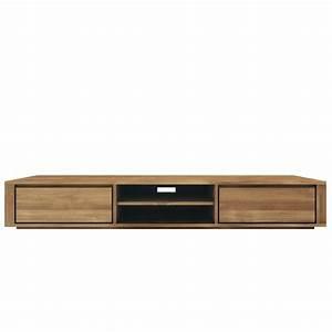 Meuble Tele Bas : meuble tv bas fly ~ Teatrodelosmanantiales.com Idées de Décoration