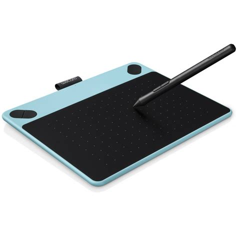 wacom drawing tablet intuos comic pen touch s blue