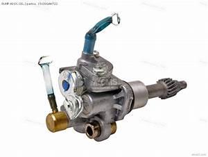 Honda Sk50m Dio 1994  R  Spain Crankcase  Oil Pump