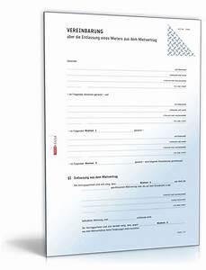 Mietrecht Wohnung Streichen Bei Auszug : entlassung eines mieters aus dem mietvertrag muster zum ~ Lizthompson.info Haus und Dekorationen