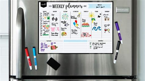 The Best Weekly Planners & Family Calendars That You Can ...