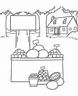 Coloring Colouring Fruits Grocery Fruit Colour Sheets Topcoloringpages Children sketch template