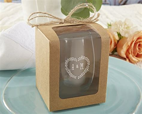 Kate Aspen Kraft Style Display Gift Boxes for Stemless