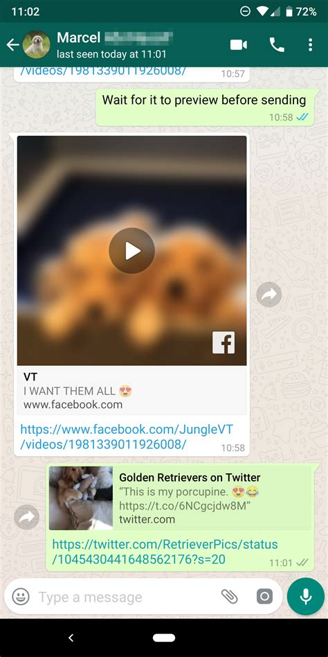 whatsapp beta 2 18 301 brings picture in picture playback for and instagram